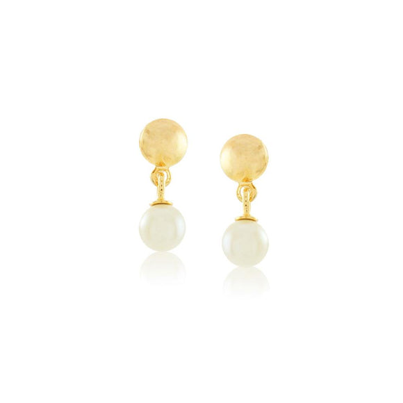 36004 18K Gold Layered Earring