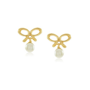 36010 18K Gold Layered Earring