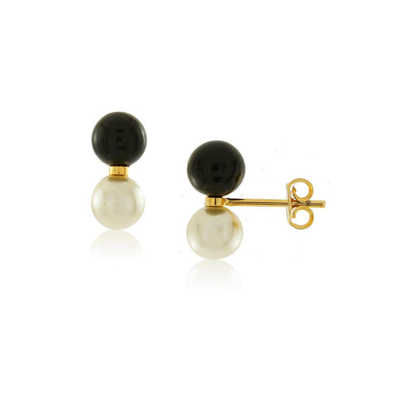 36013 18K Gold Layered Earring