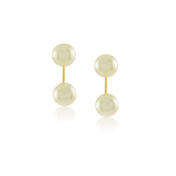 36015 18K Gold Layered Earring