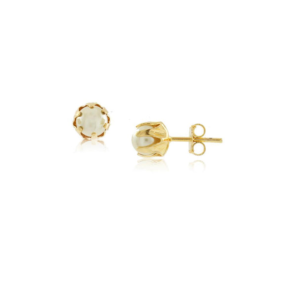 36016 18K Gold Layered Earring