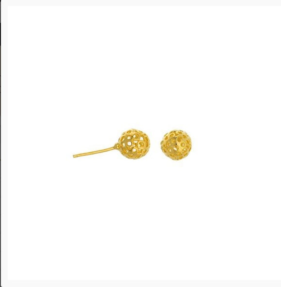 36018 18K Gold Layered Earring