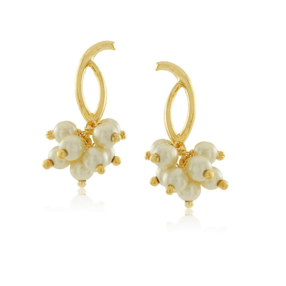 36019 18K Gold Layered Earring