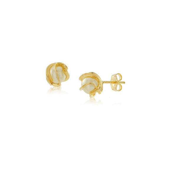 36021 18K Gold Layered Earring
