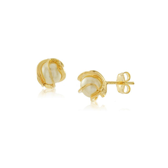 36023 18K Gold Layered Earring