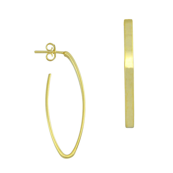 36041 18K Gold Layered Earring