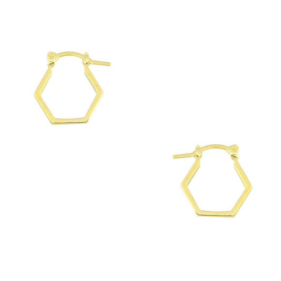 36050 18K Gold Layered Earring