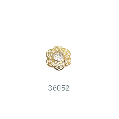 36052 18K Gold Layered Earring