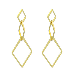 36054 18K Gold Layered Earring