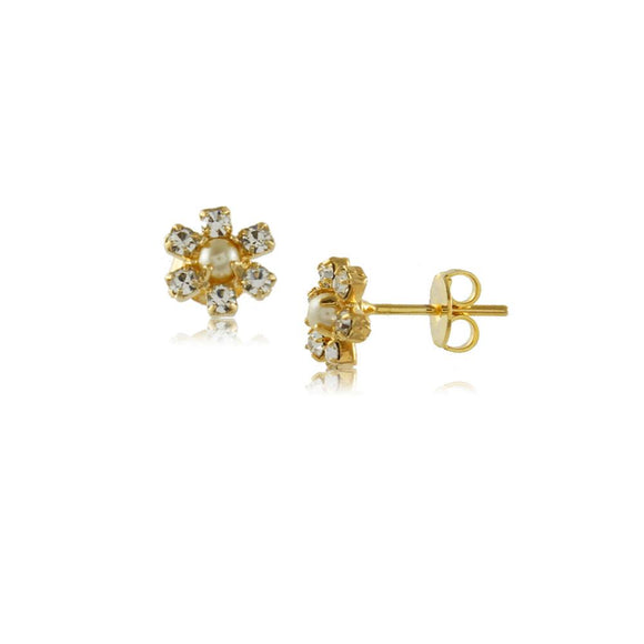 36060 18K Gold Layered Earring