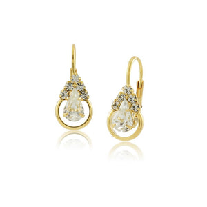 36068 18K Gold Layered Earring