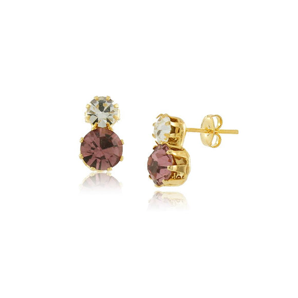 36069 18K Gold Layered Earring