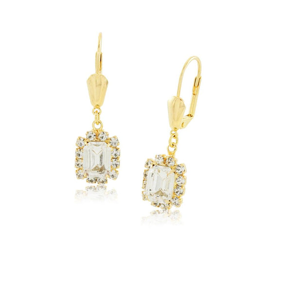 36071 18K Gold Layered Earring