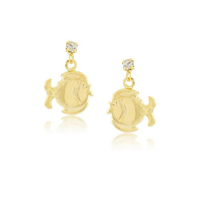 36073 18K Gold Layered Earring