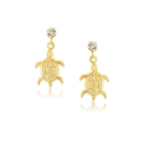 36076 18K Gold Layered Earring