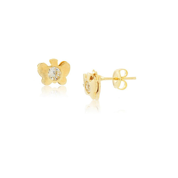 36087 18K Gold Layered Earring