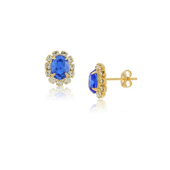 36090 18K Gold Layered Earring