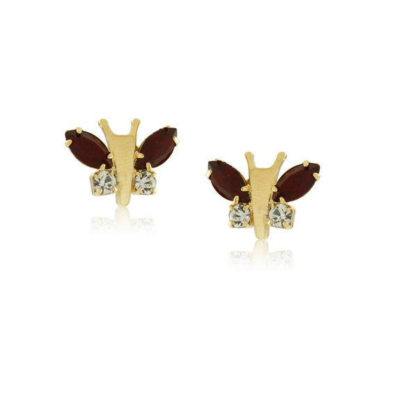 36094 18K Gold Layered Earring