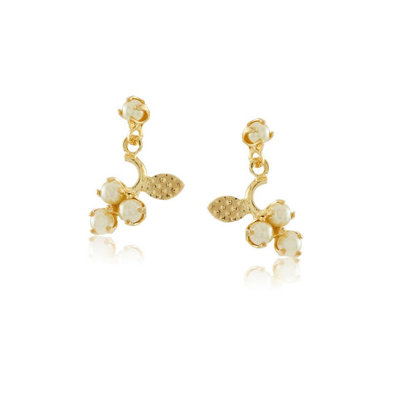 36095 18K Gold Layered Earring
