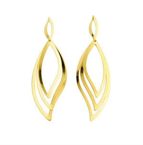 36102 18K Gold Layered Earring