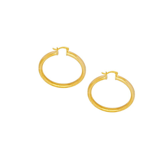 36104 18K Gold Layered Earring