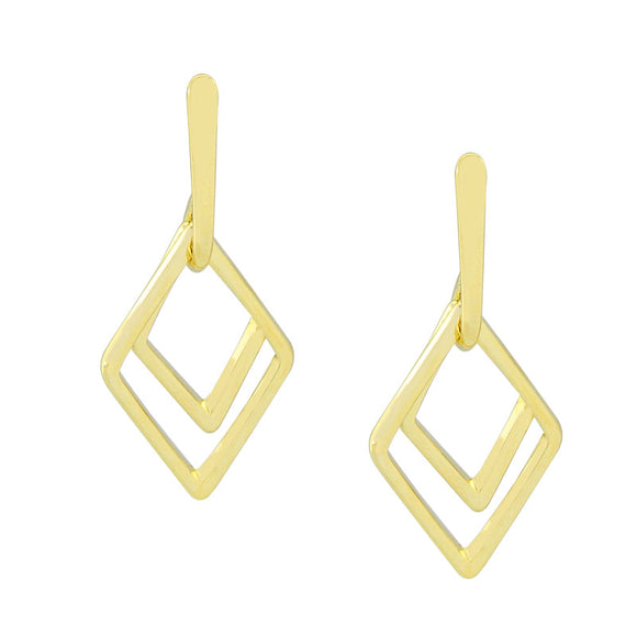 36110 18K Gold Layered Earring