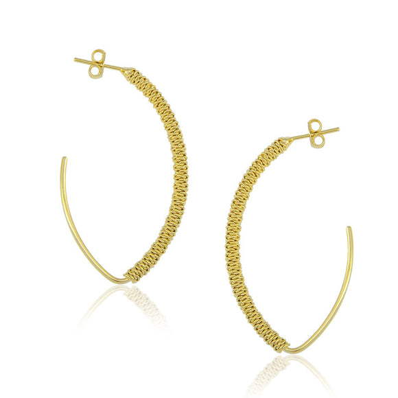 36114 18K Gold Layered Earring
