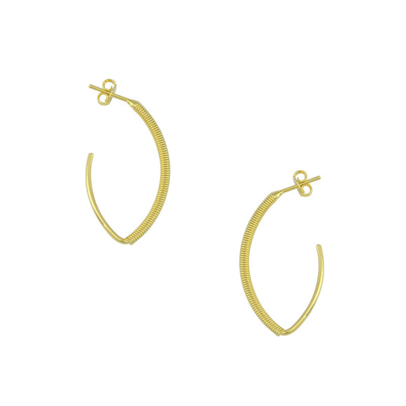 36115 18K Gold Layered Earring