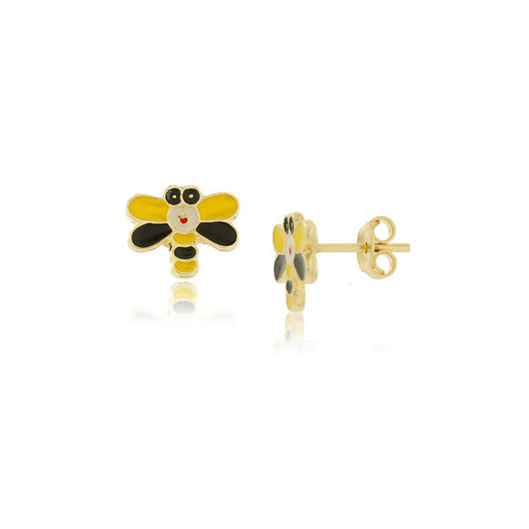 36139 18K Gold Layered Earring