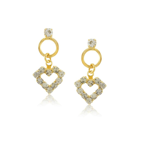 36146 18K Gold Layered Earring