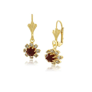 36150 18K Gold Layered Earring