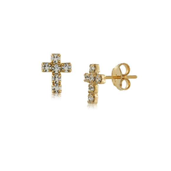 36152 18K Gold Layered Earring