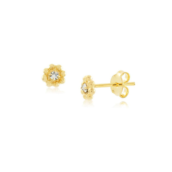 36155 18K Gold Layered Earring