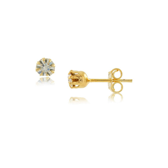 36157 18K Gold Layered Earring