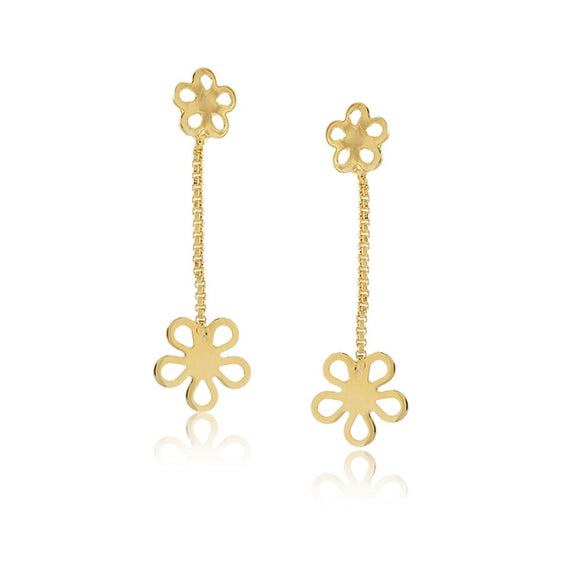 36163 18K Gold Layered Earring