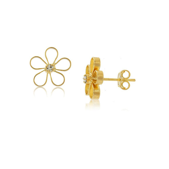 36167 18K Gold Layered Earring
