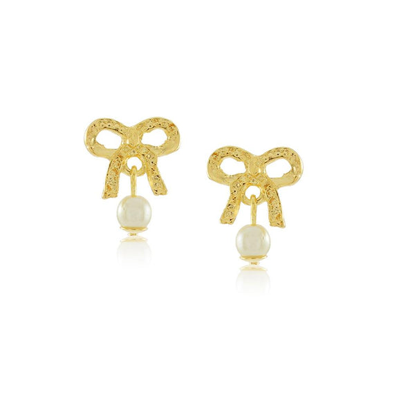 36171 18K Gold Layered Earring