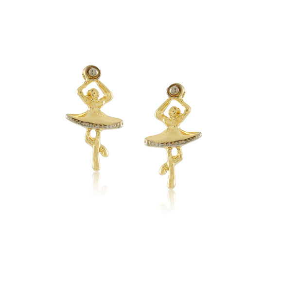 36184 - 18K Gold Layered Earring