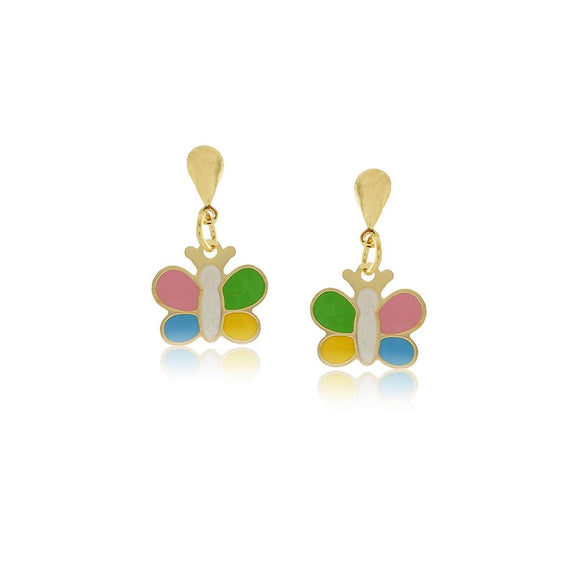 36198 18K Gold Layered Earring