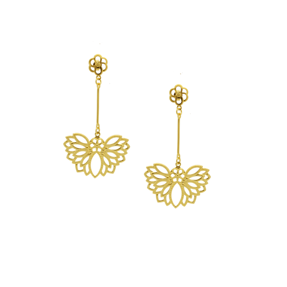 36230 18K Gold Layered Earring