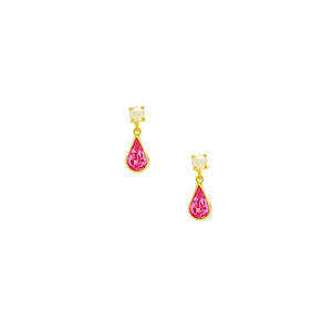 36237 18K Gold Layered Earring