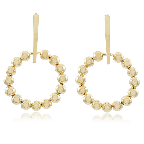 36242 18K Gold Layered Earring