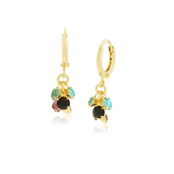 36255 18K Gold Layered Earring
