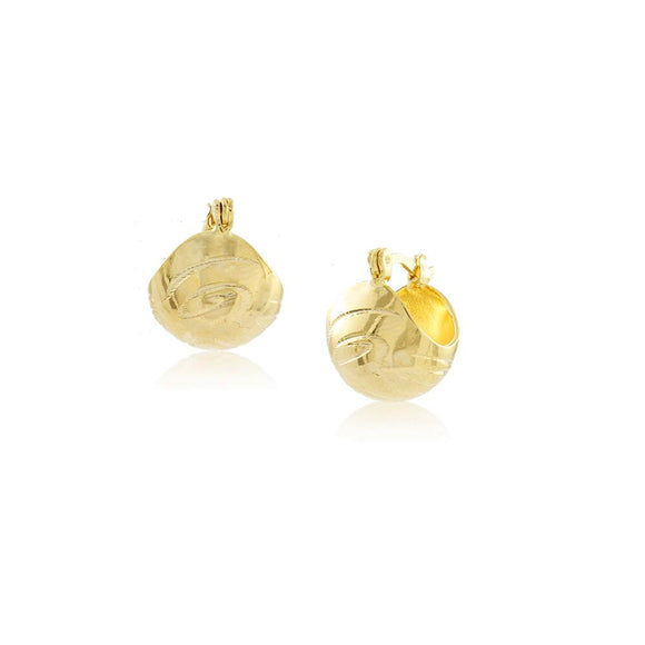 36261 18K Gold Layered Earring