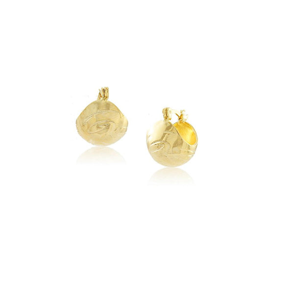 36268 18K Gold Layered Earring