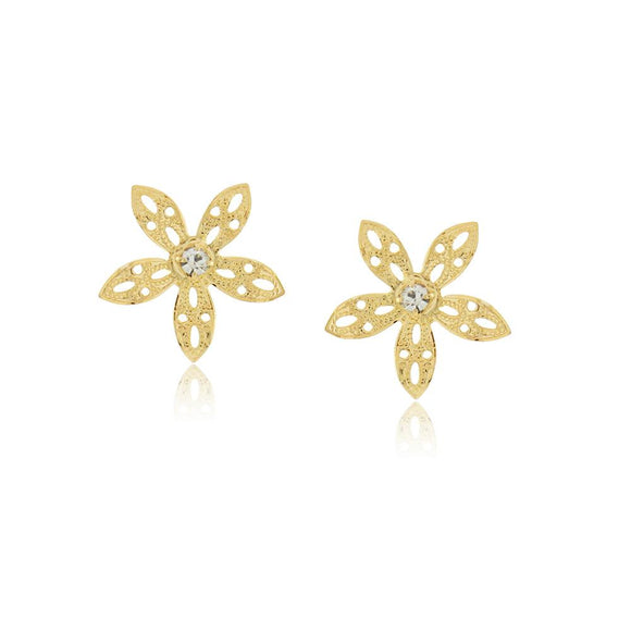 36287 18K Gold Layered Earring