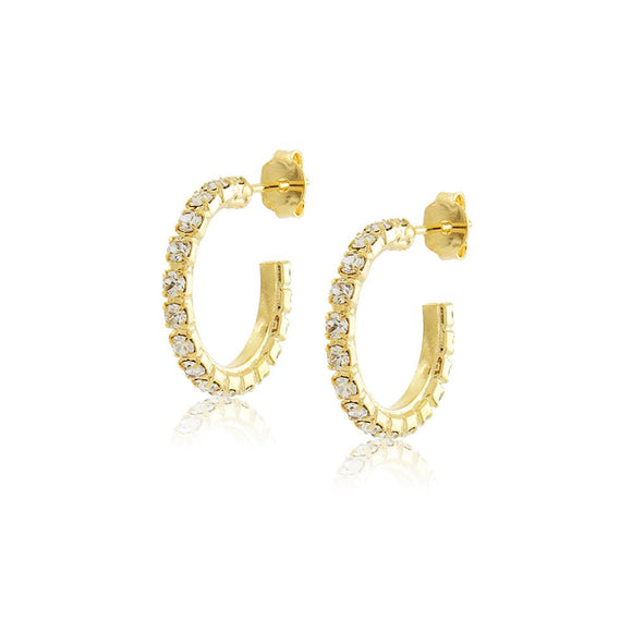 36294 18K Gold Layered Earring
