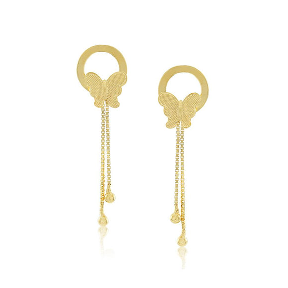 36296 18K Gold Layered Earring