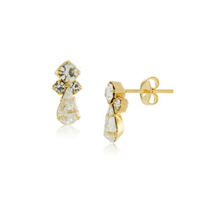 36303 18K Gold Layered Earring