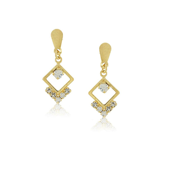 36309 18K Gold Layered Earring